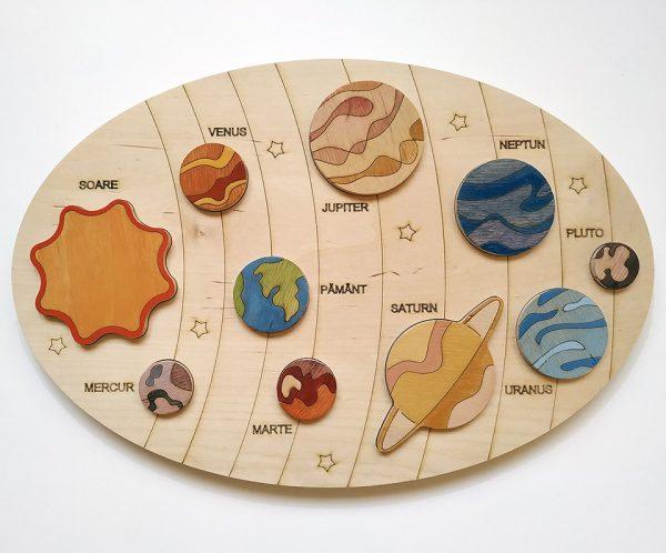 Puzzle Sistemul Solar
